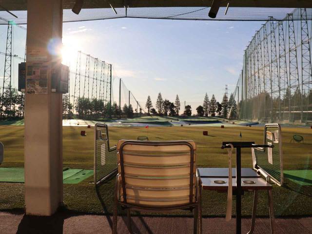 画像1: ドライビングレンジは併設された系列練習場(300ヤード・88打席)を使用
