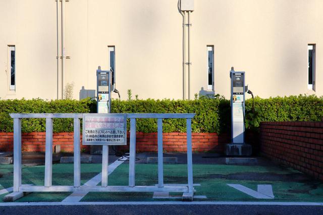 画像: クラブハウス EV用の充電器