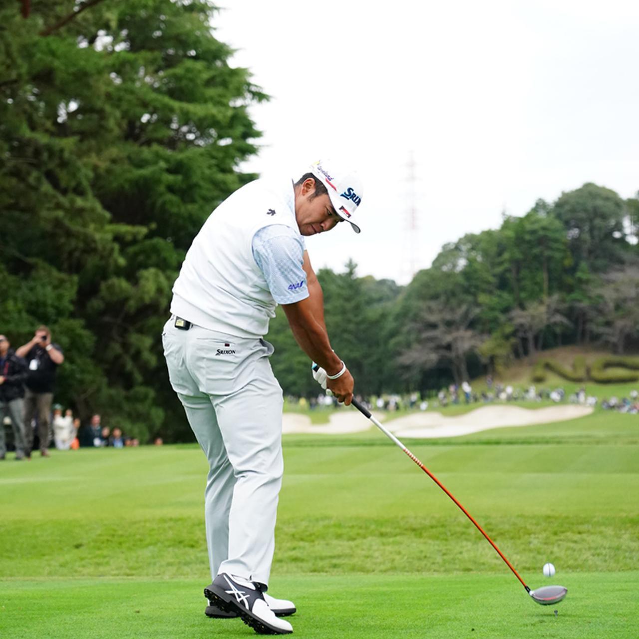 画像4: 【松山英樹】トップで止まらなくなった! 淀みなく超スムーズになった「切り返し動」スウィング解説