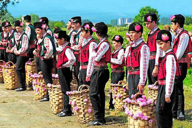 画像2: バラ祭りの風景
