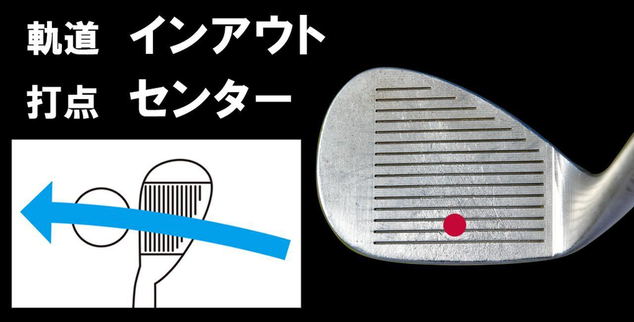 """画像: 浅地洋佑プロは""""胸""""でインアウトの軌道を作る"""