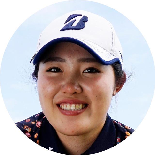画像: 古江彩佳 ふるえあやか。2000年生まれ、兵庫県出身。アマとして出場した富士通レディースで優勝、その後プロ入り。ツアー最終戦リコーカップでは2位。プラチナ世代の1人