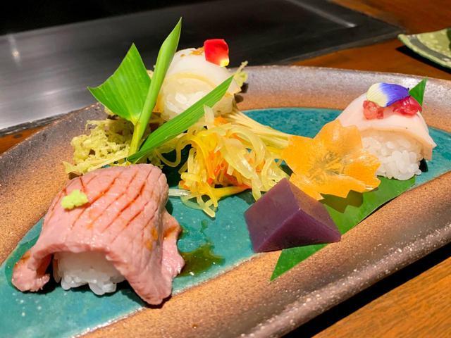 画像: 手鞠り寿司
