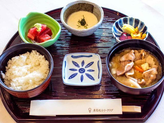 画像2: 鈴木さんのお気に入り豚汁定食(1100円)