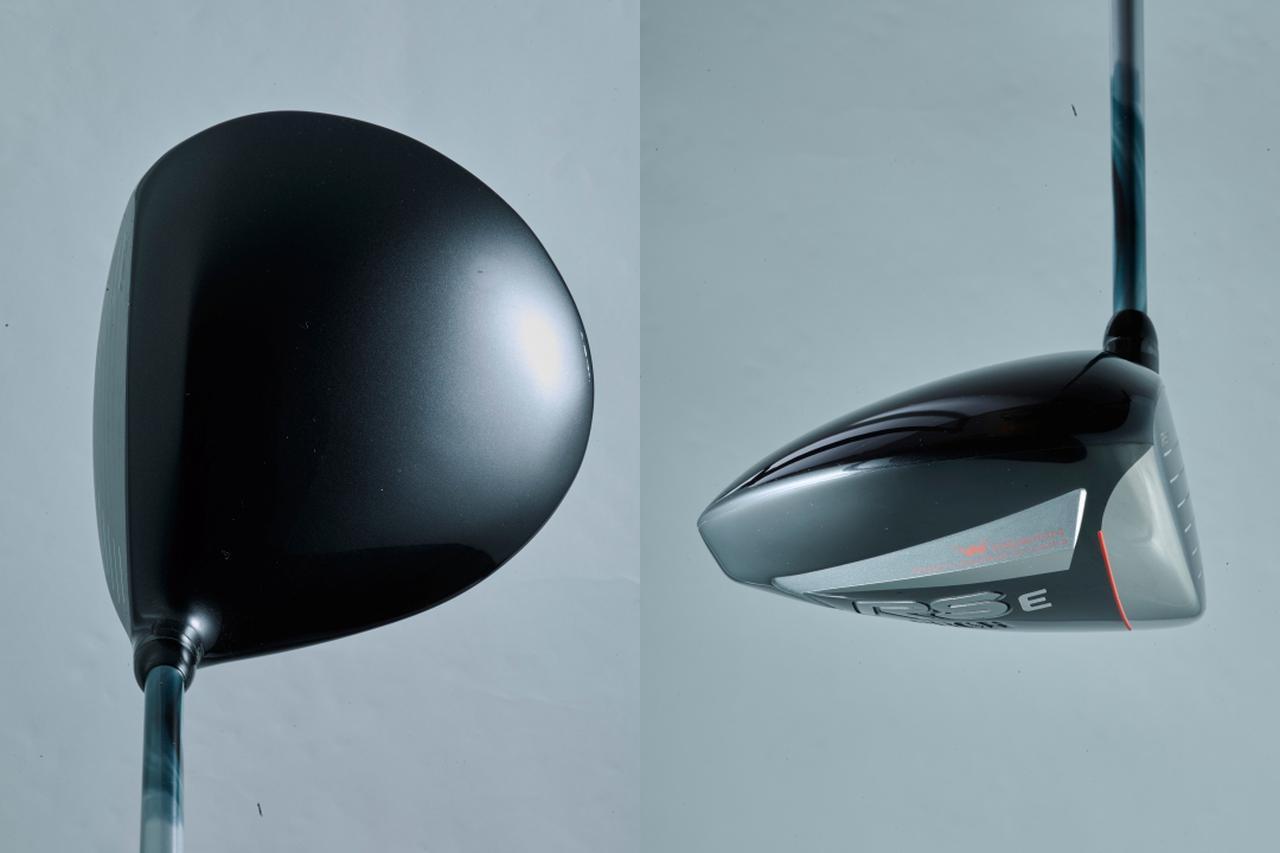 画像: インナーウェートをネック側に配置し、フェースアングルもややフック気味でつかまりを重視