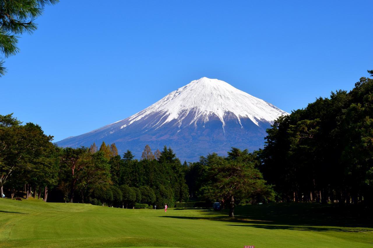 画像: 富士山が眼前、富士宮GC