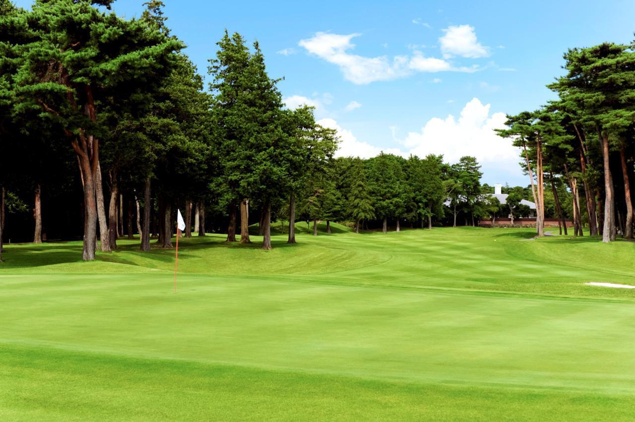画像: 自然の樹木を活かした景観、戦略。ザ・ゴルフクラブ竜ケ崎