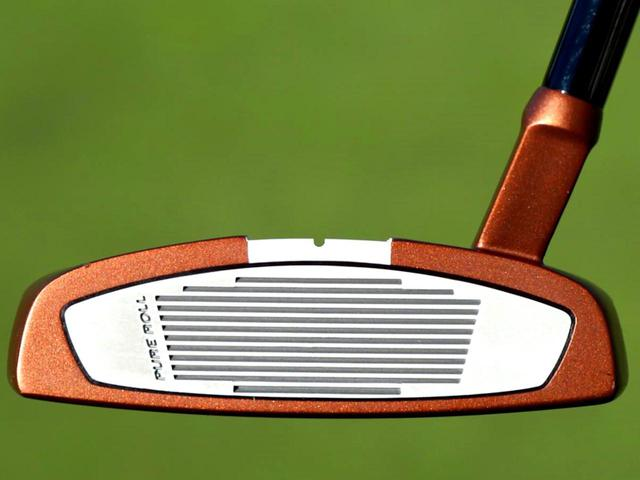 画像: 短めのスラントネック形状。フェースバランスではないのでブレードタイプからも移行しやすい
