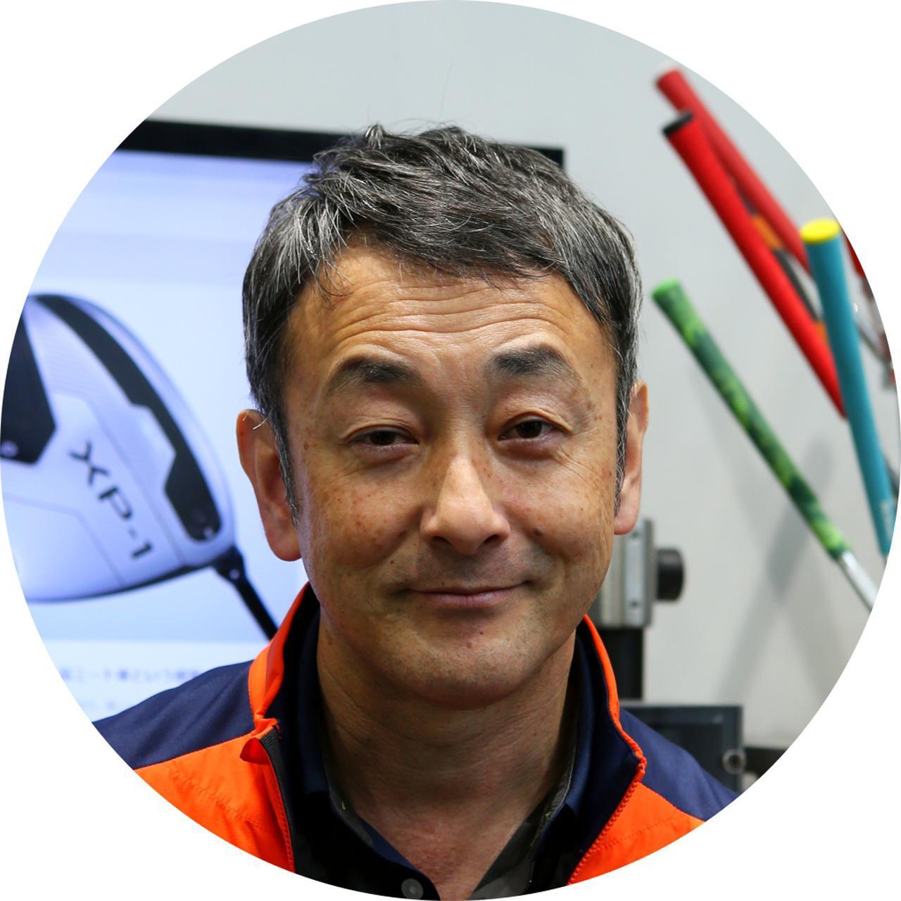 画像: 平野義裕さん 東京のスウィング碑文谷内にある「クールクラブス」のフィッター。日頃から数多くのクラブを試打