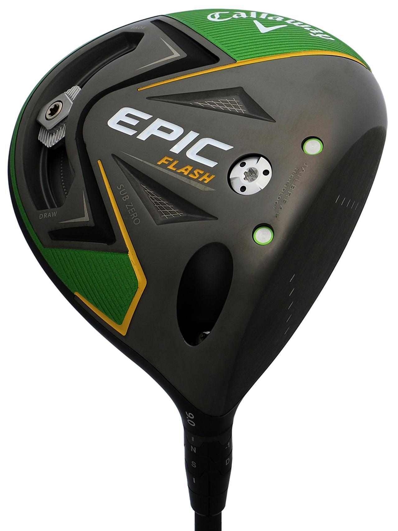画像: EPIC FLASH STAR(キャロウェイ) ネックの調整機能をなくし、その重量で上げやすさとつかまりを向上