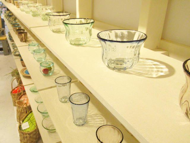画像: 琉球ガラスもたくさん