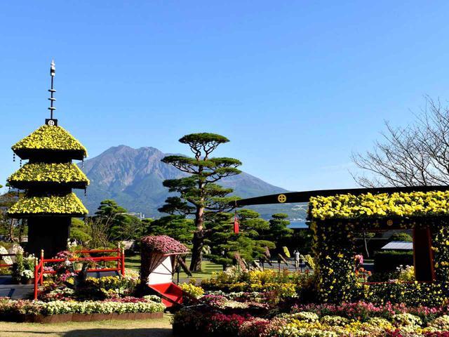 画像: 仙巌園は、江戸時代から続く島津藩主の日本庭園です