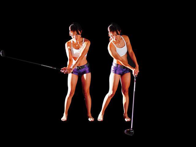 画像2: ひじを伸ばすと腕は力む。ひじを曲げると脱力できる