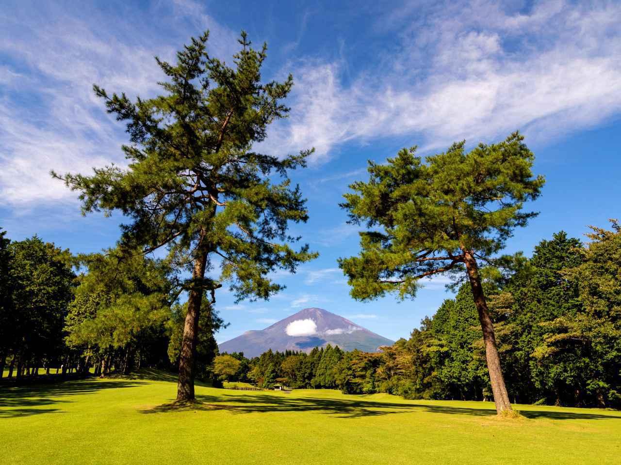 画像: 富士平原ゴルフクラブは、広くフラットで富士山の景観が楽しめる27ホール