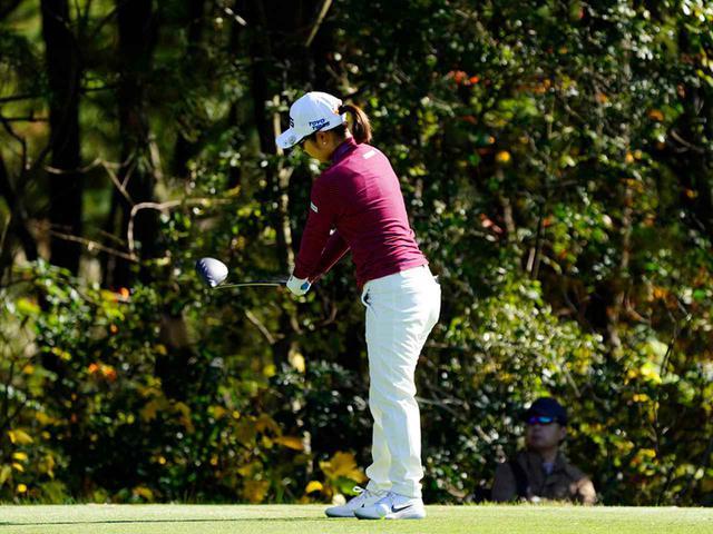 画像9: 【プレショットルーティン調査】女子プロゴルファー上位32人をチェック! テクニカル素振り、フィジカル素振り、イメージ素振り、一番多いのはどのタイプ?