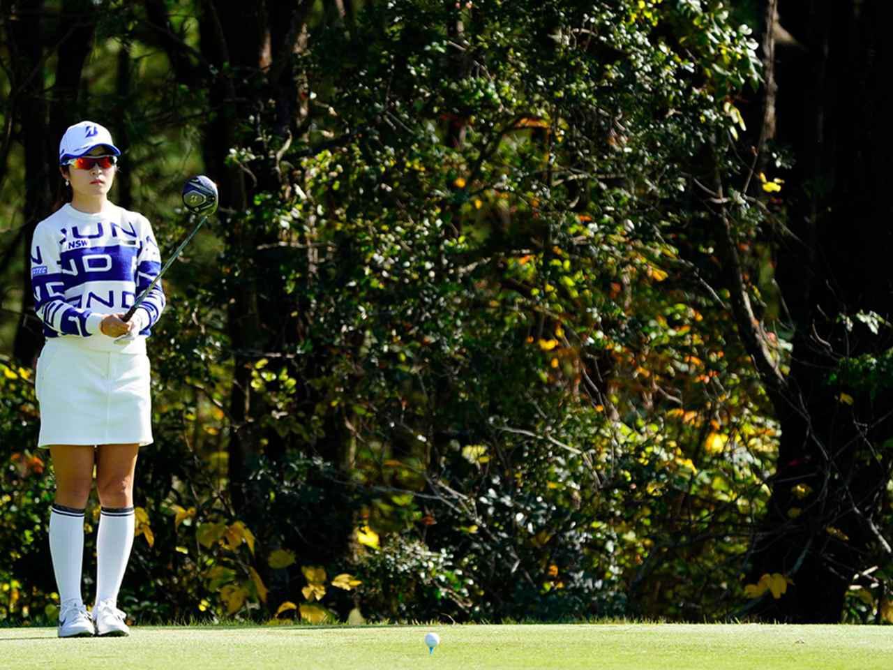 """画像12: 【プレショットルーティン調査】女子プロゴルファー上位32人をチェック! 2タイプに分かれた""""アドレスの入り方"""""""