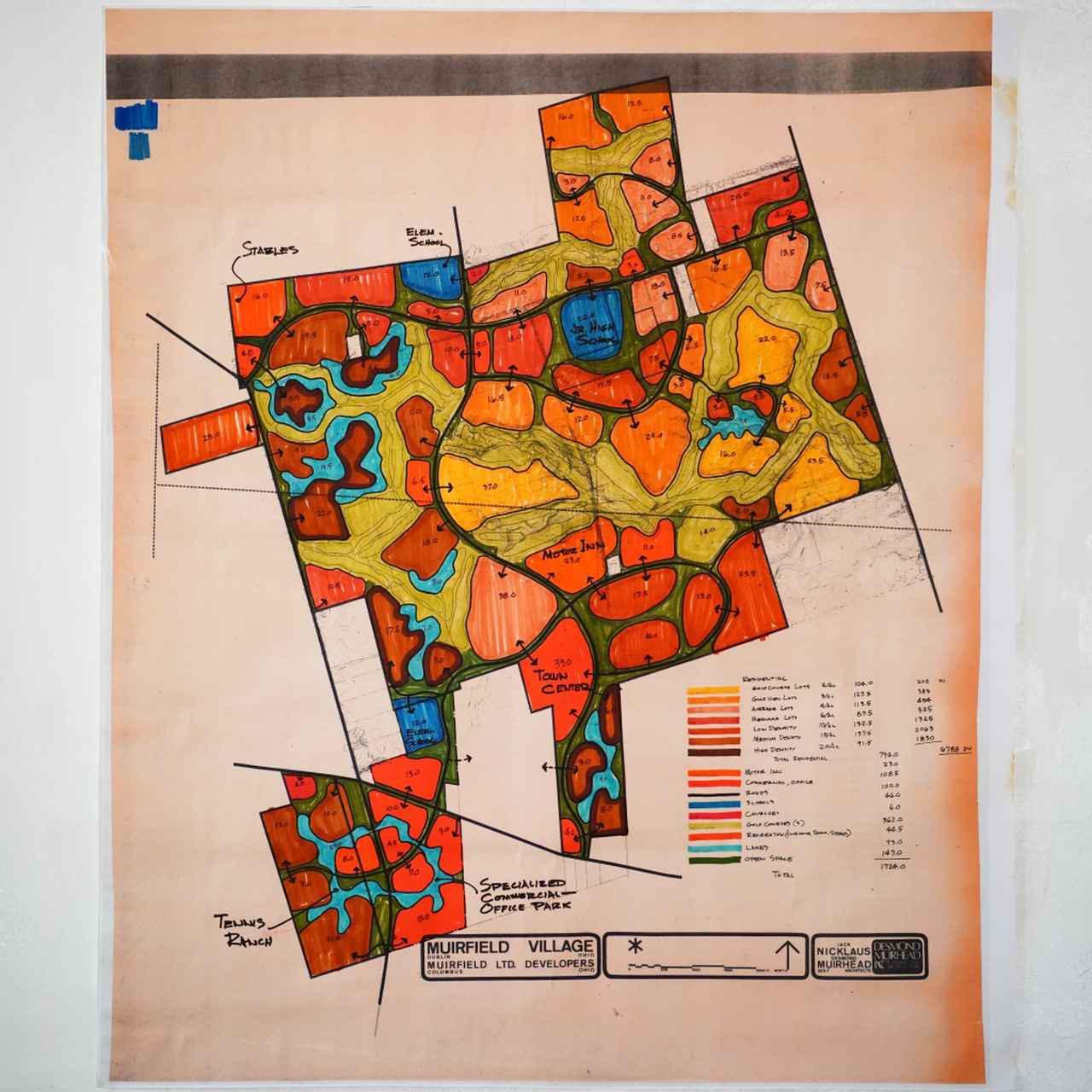 画像: こちらは1970年代に造った米国の「ミュアフィールドヴィレッジ」図面だ