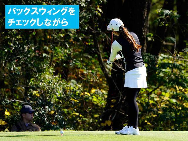"""画像59: 【プレショットルーティン調査】女子プロゴルファー上位32人をチェック! 2タイプに分かれた""""アドレスの入り方"""""""
