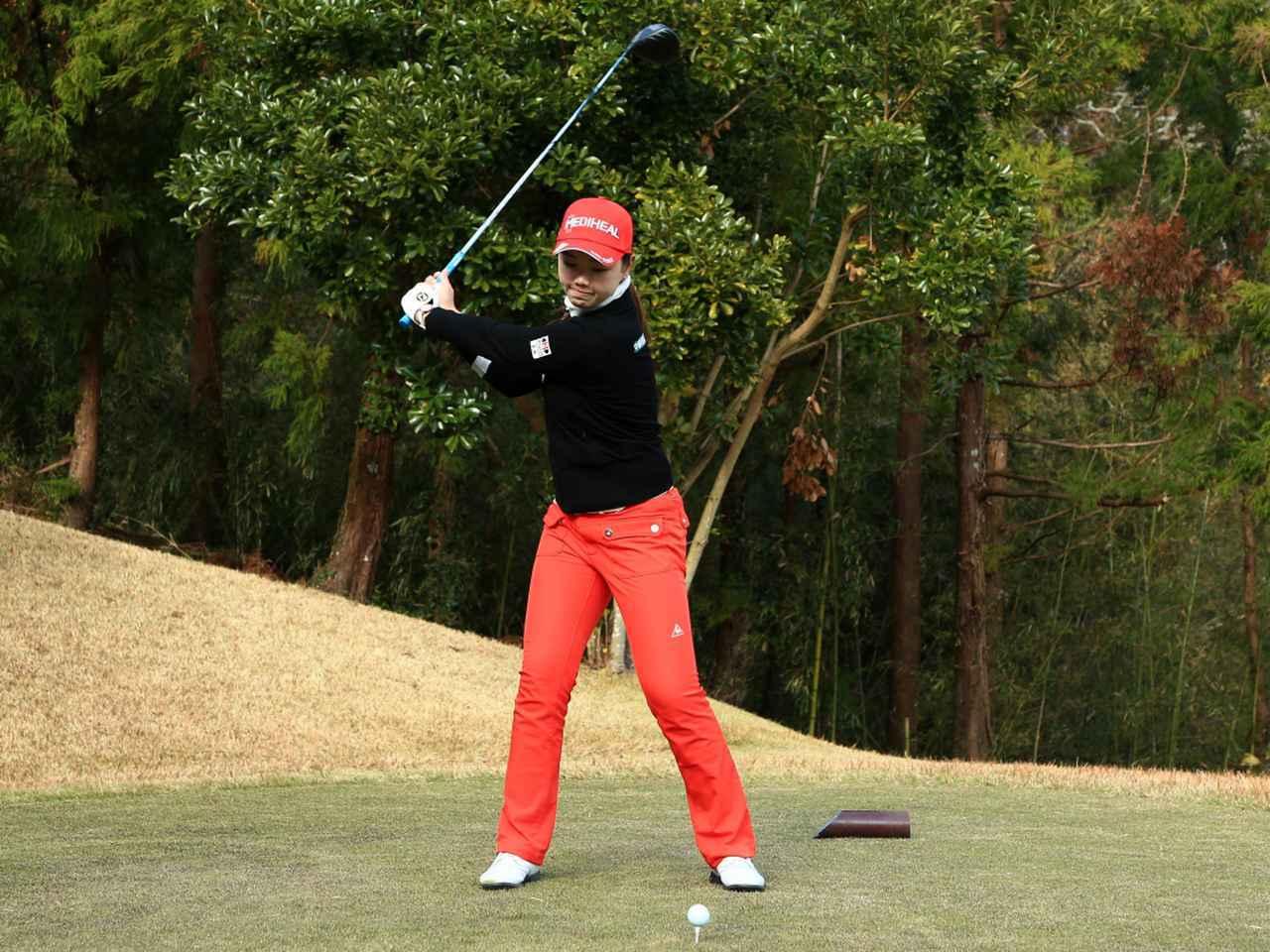 画像3: 【飛距離アップ】日本生まれ中国育ちの美女プロゴルファー、セキ・ユウティン。「私が30ヤードUPした秘密」