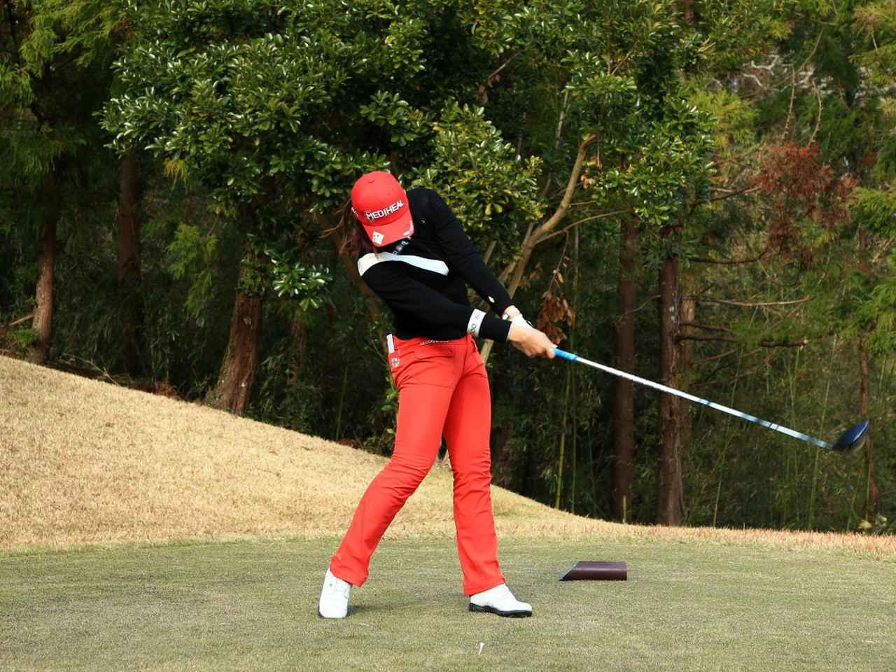 画像7: 【飛距離アップ】日本生まれ中国育ちの美女プロゴルファー、セキ・ユウティン。「私が30ヤードUPした秘密」