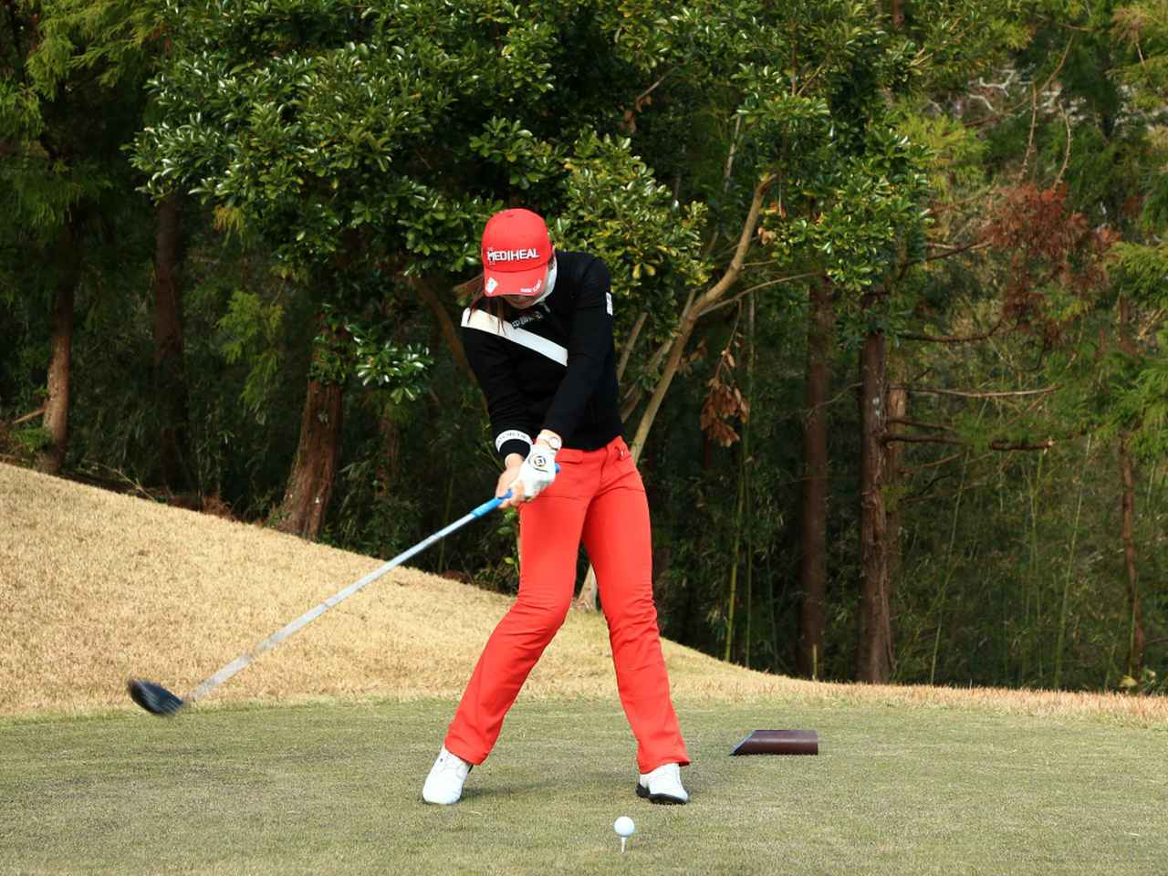 画像6: 【飛距離アップ】日本生まれ中国育ちの美女プロゴルファー、セキ・ユウティン。「私が30ヤードUPした秘密」
