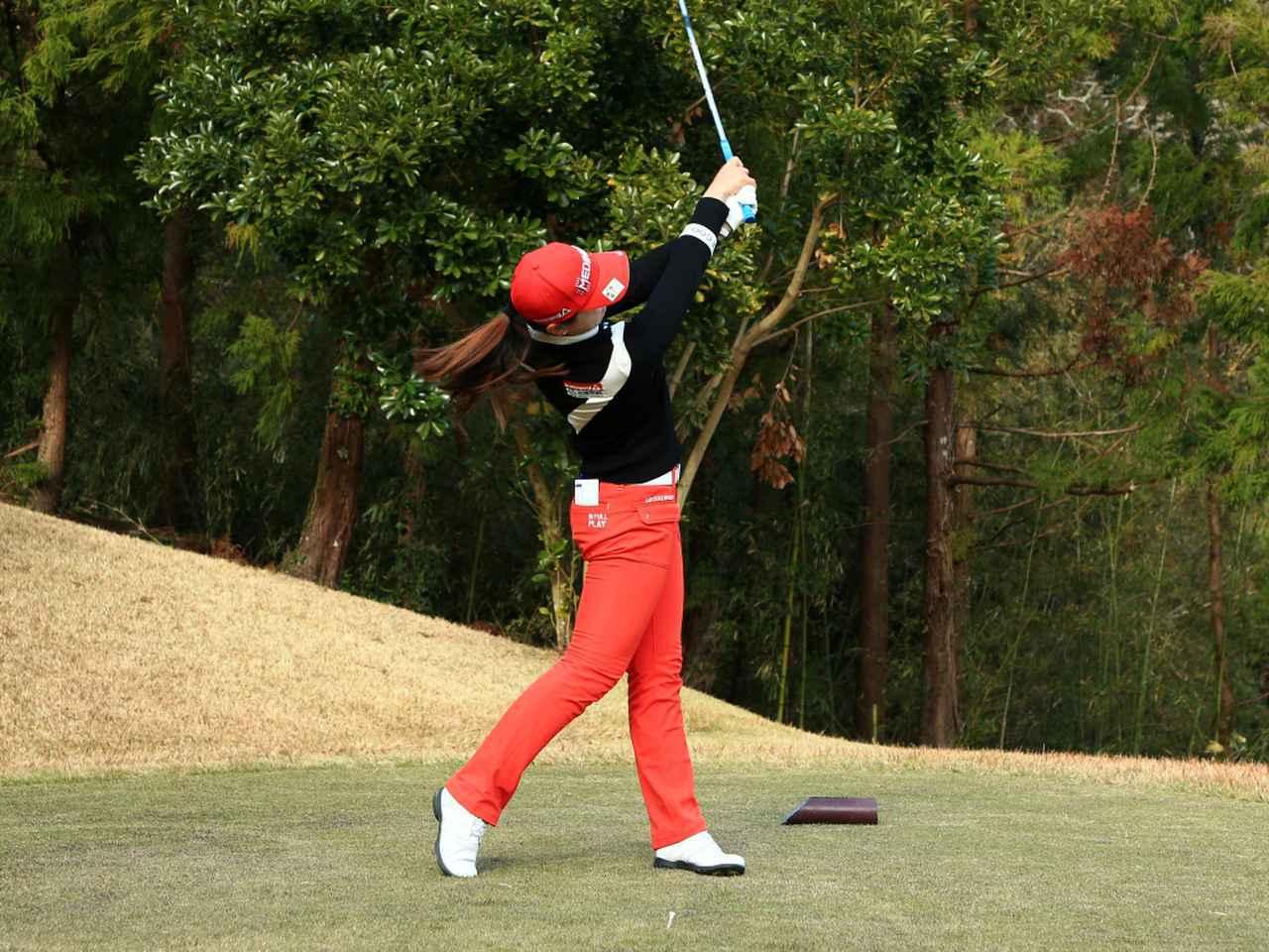 画像8: 【飛距離アップ】日本生まれ中国育ちの美女プロゴルファー、セキ・ユウティン。「私が30ヤードUPした秘密」