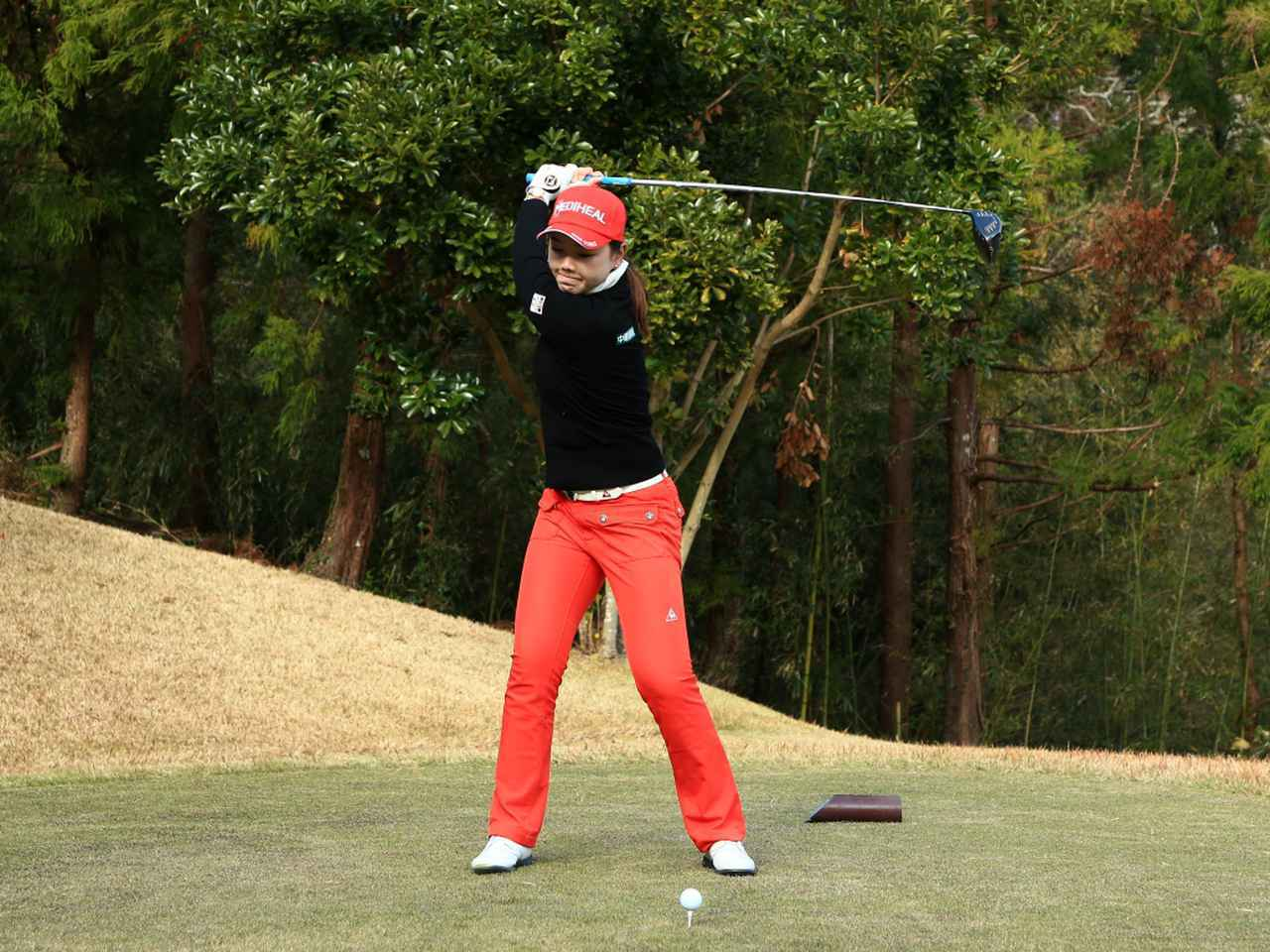 画像4: 【飛距離アップ】日本生まれ中国育ちの美女プロゴルファー、セキ・ユウティン。「私が30ヤードUPした秘密」