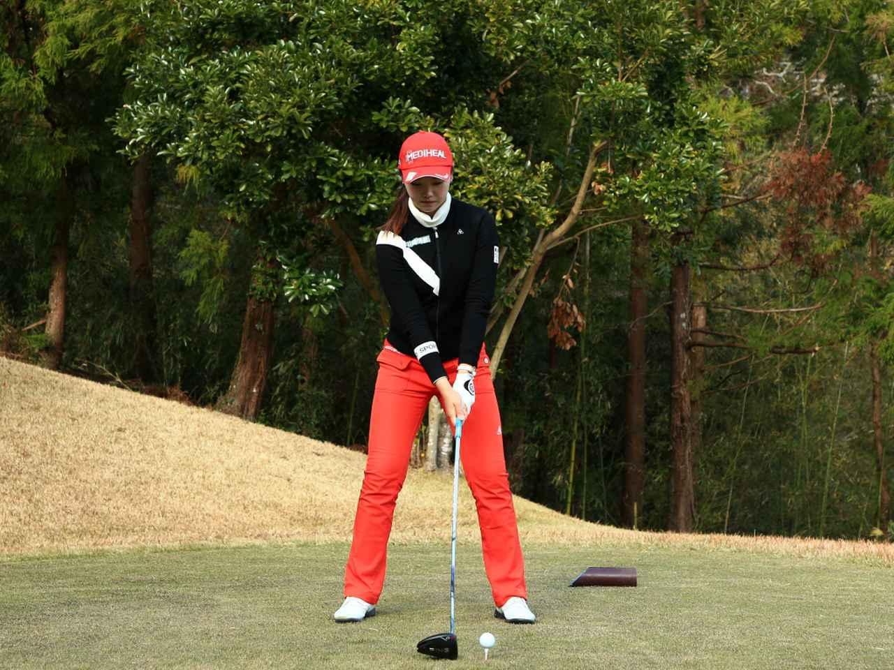 画像1: 【飛距離アップ】日本生まれ中国育ちの美女プロゴルファー、セキ・ユウティン。「私が30ヤードUPした秘密」