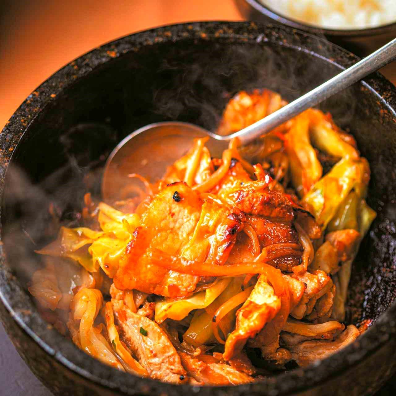 画像2: 石釜生姜焼き膳(1820円)