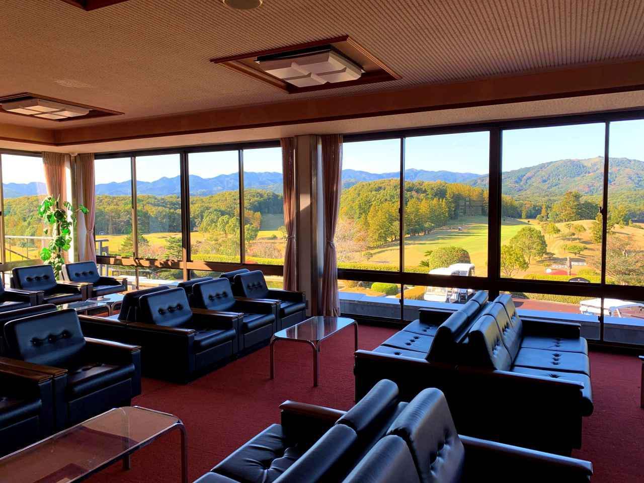 画像: クラブハウス2階からの眺め