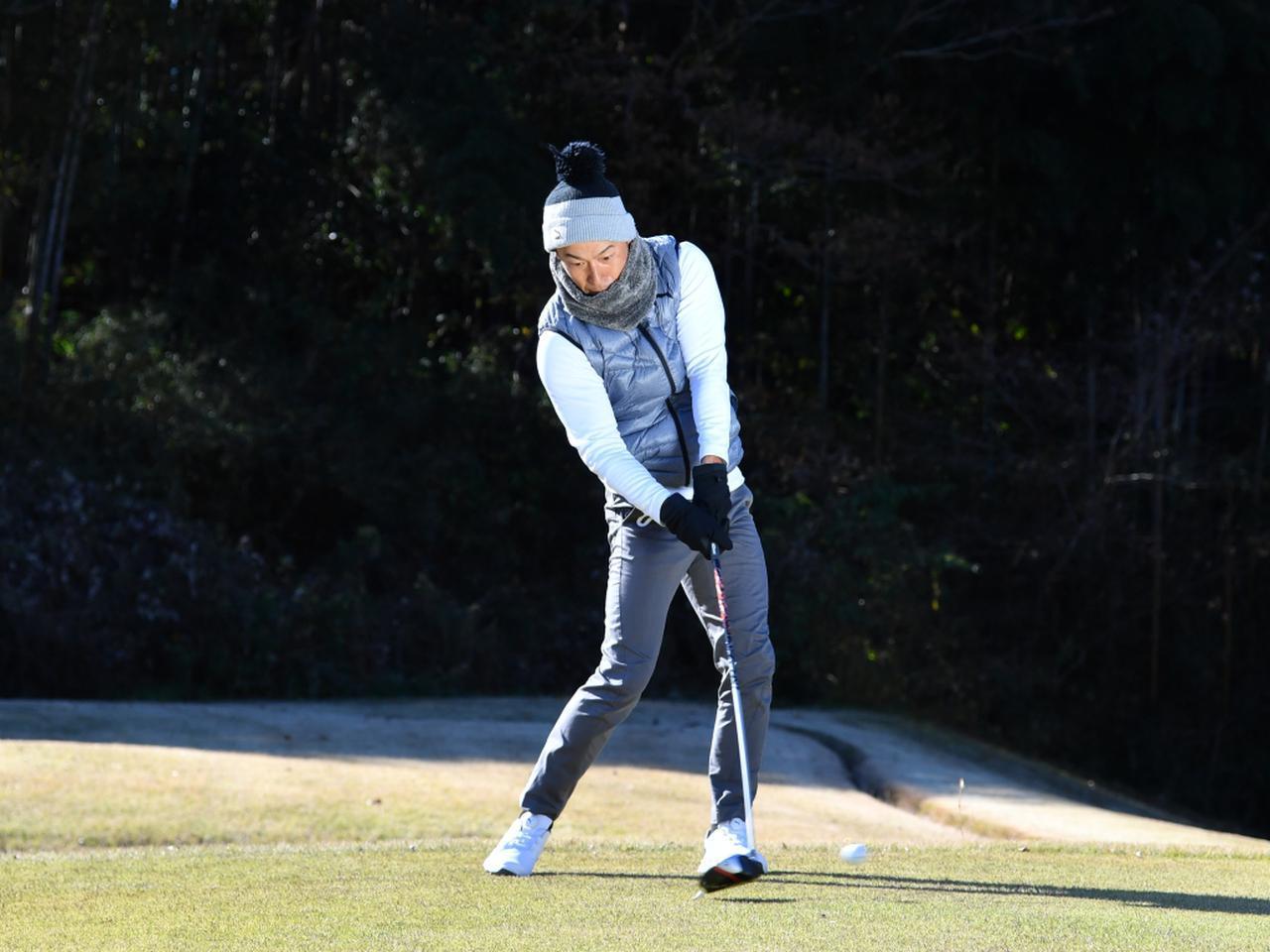 画像3: 【冬ゴルフのスコアメーク】今すぐ試したいテクニック「ティショット&セカンド編」。ベストスコアを冬に出す