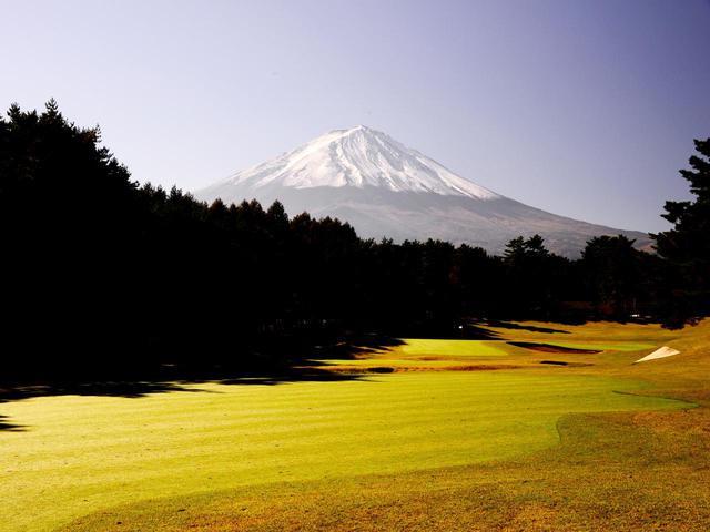 画像: 富士桜CC(18番・372Y・P4)
