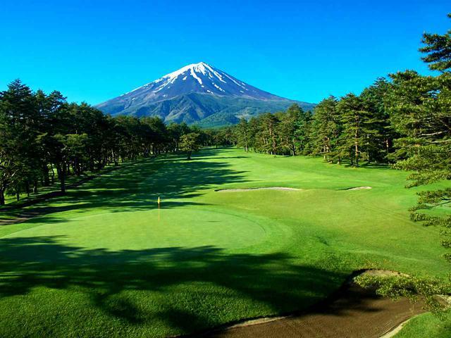画像: 富士レイクサイドCC(18番・430Y・P4)