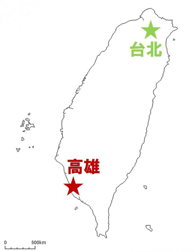 画像: まずは台湾(台北・高雄)の気候について