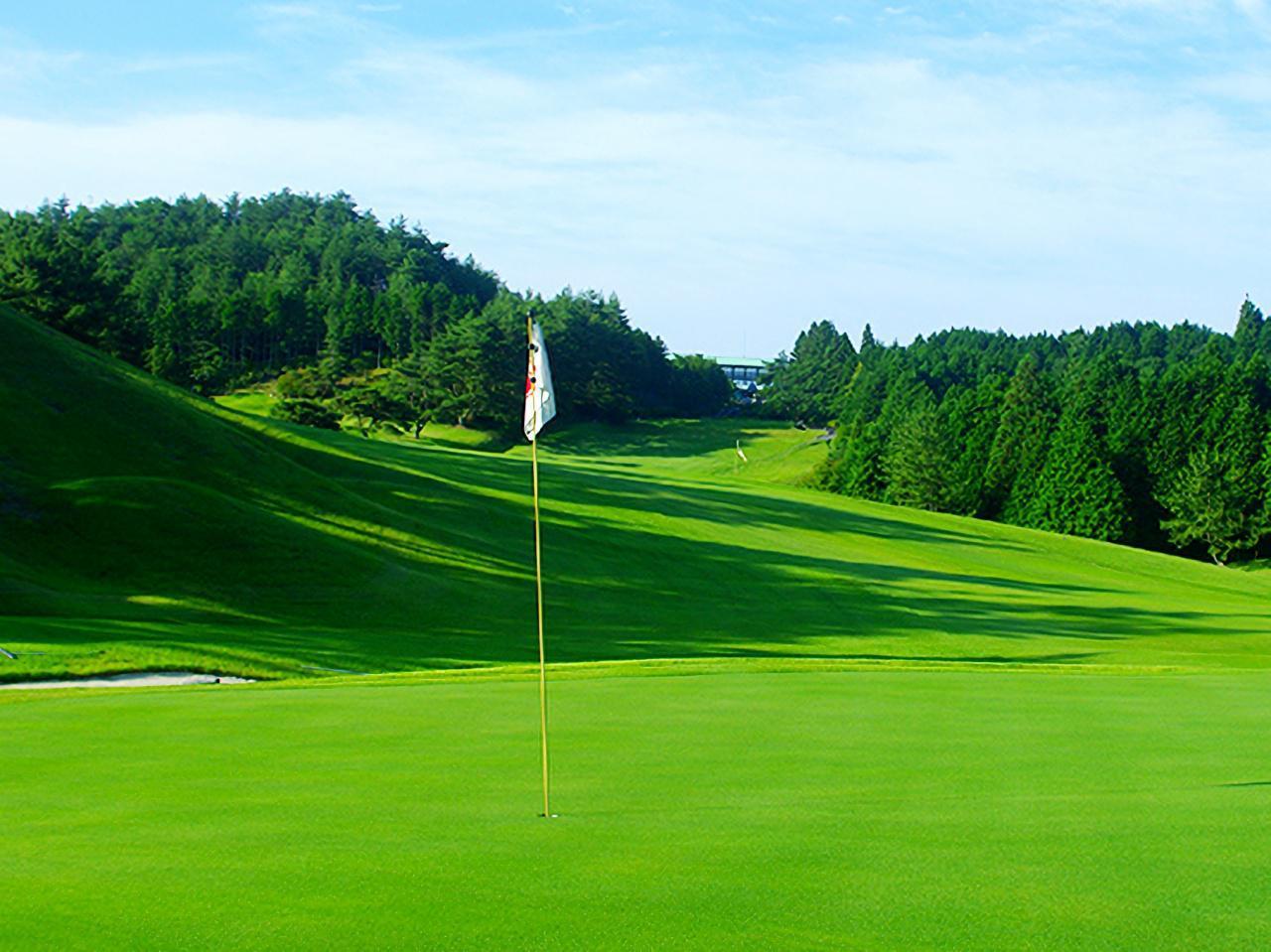 画像: 茨木高原カンツリー倶楽部 18H・6734Y・P72の丘陵コース