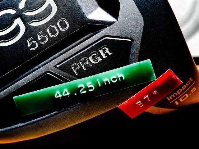 画像: 真っすぐ当たりやすく つかまるヘッド 振りやすい短めドライバー