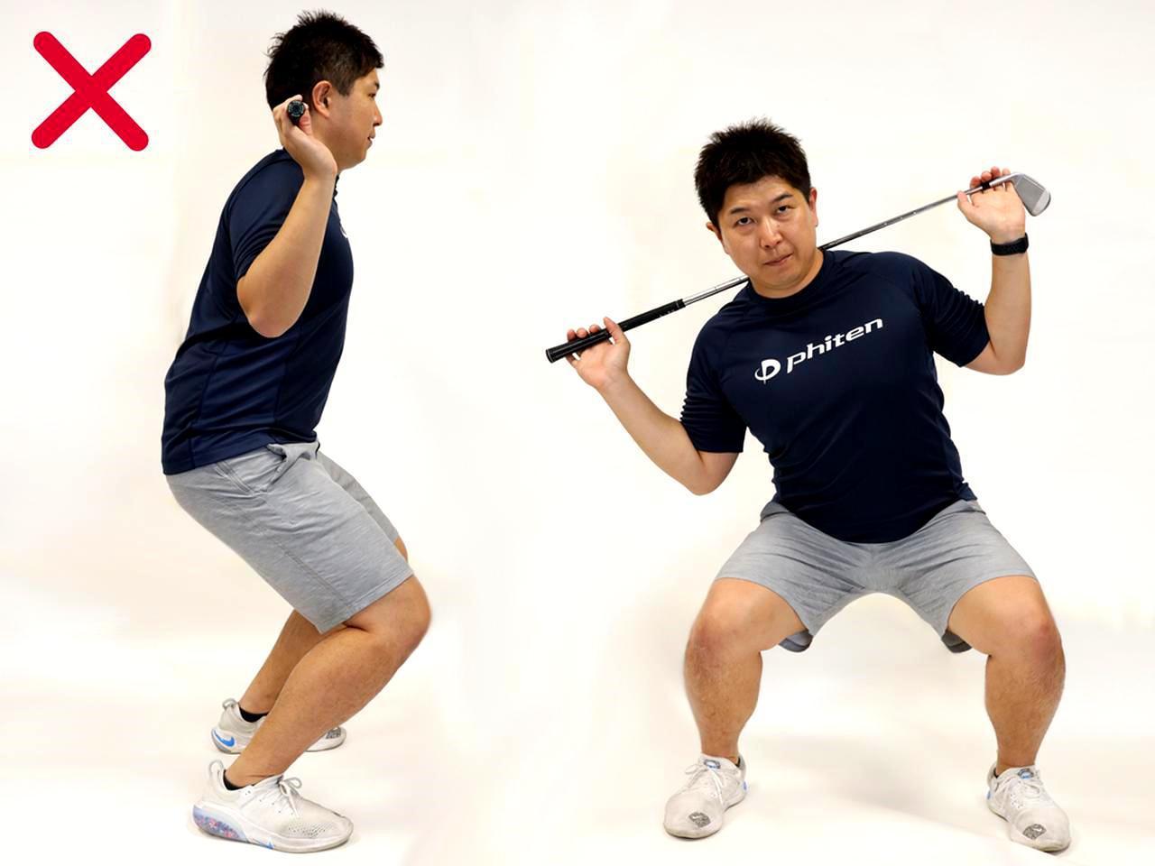 画像: 間違った動きは姿勢を悪化させる