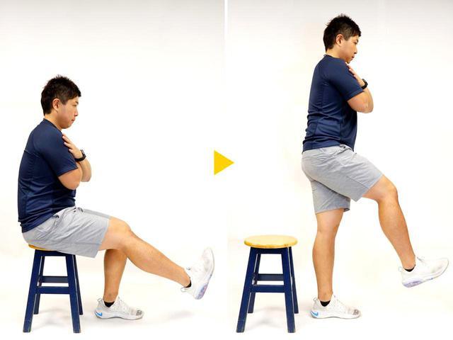 画像: スクワットがきつい人は椅子を使えば簡単