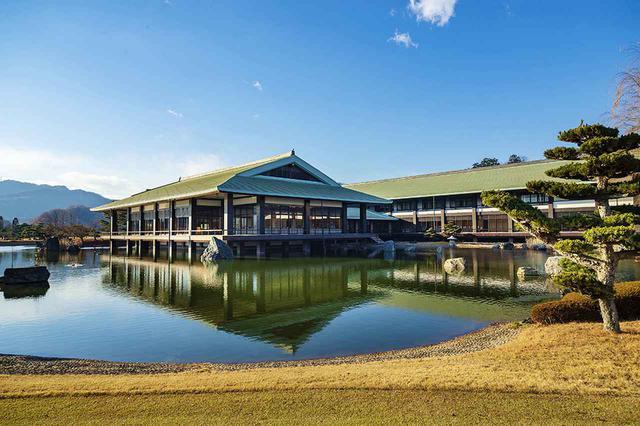 画像: 日本庭園風の18ホール 平成倶楽部鉢形城コース