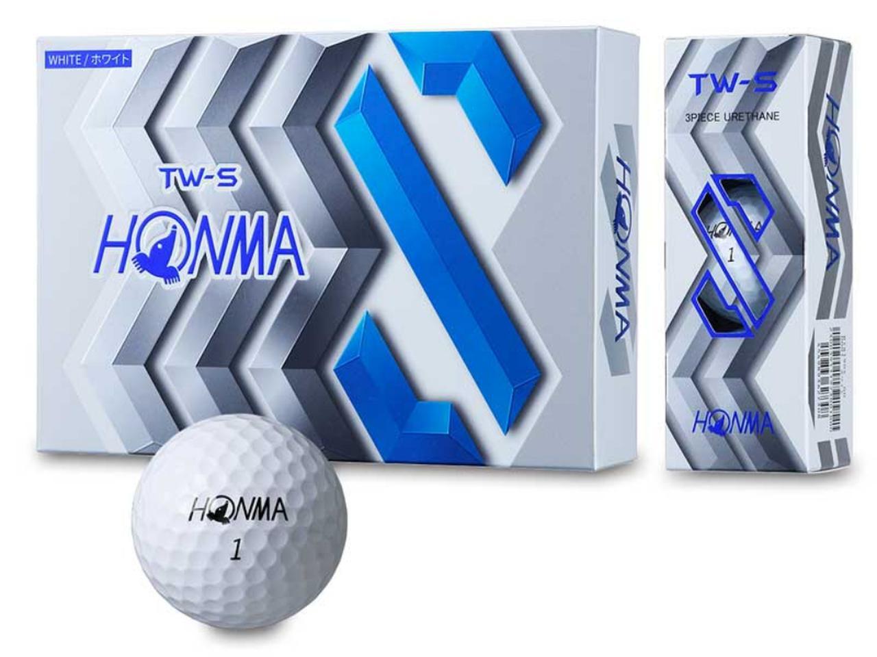 画像2: リーズナブル価格でツアーボールに匹敵性能 ホンマTW-S、TW-X