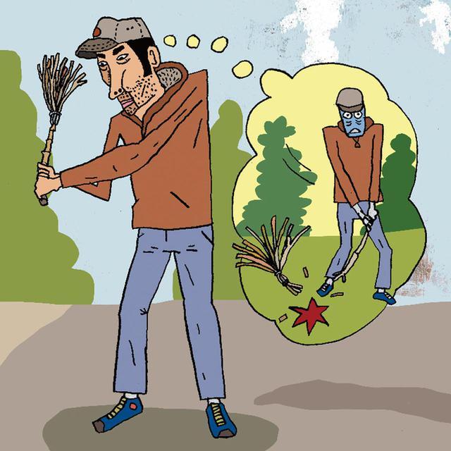 画像3: 竹ぼうきのように長くて重いモノを振る効果 専門家に聞いてみた