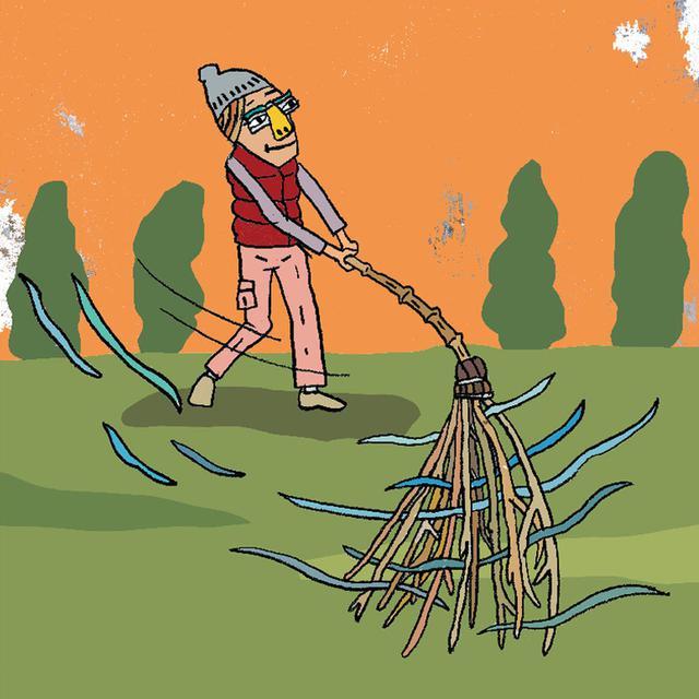 画像2: 竹ぼうきのように長くて重いモノを振る効果 専門家に聞いてみた