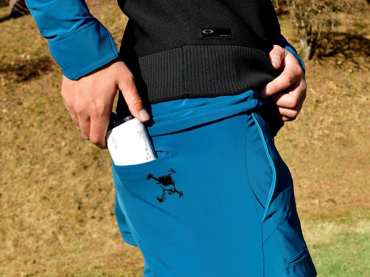 画像: コンパクトなのでポケットにもすんなり! スウィングの邪魔にもなりにくい