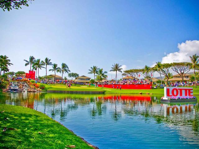 画像: LPGAのトーナメント風景、2019年はB・ヘンダーソンが優勝(Ko Olina GC FacebookOlina GC Facebookより/PHOTO)