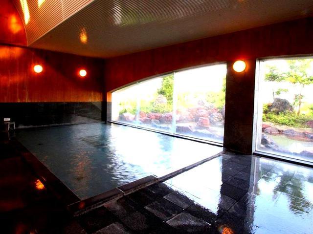 画像: 天然温泉も自慢のホテル