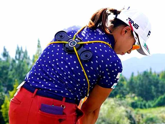 画像: 【注目のゴルフ上達器具】渋野日向子も使用中! 体幹を使ったスウィングになって飛距離が伸びる。話題のグラビティフィット効果を検証 - ゴルフへ行こうWEB by ゴルフダイジェスト