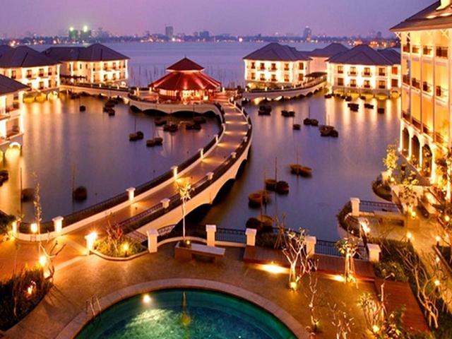 画像2: 【ベトナム・ハノイ】ベトナム航空ビジネスクラス直行便。最上級ホテルのクラブラウンジも利用できる 5日間 3プレー(現地係員案内)