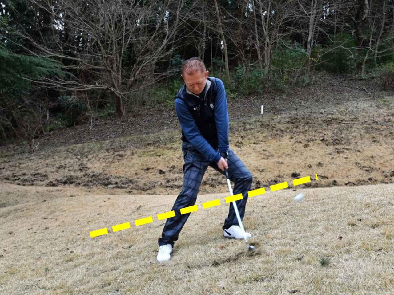 画像3: 【クラチャンと回ろう!】伊勢原カントリークラブ。急傾斜からナイスオン。フラットなゴルフ場では味わえない「快感」です!