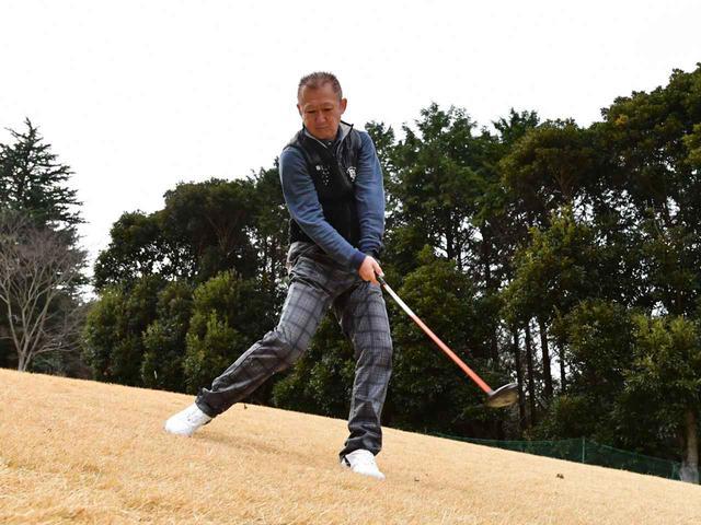 画像5: 【クラチャンと回ろう!】伊勢原カントリークラブ。急傾斜からナイスオン。フラットなゴルフ場では味わえない「快感」です!