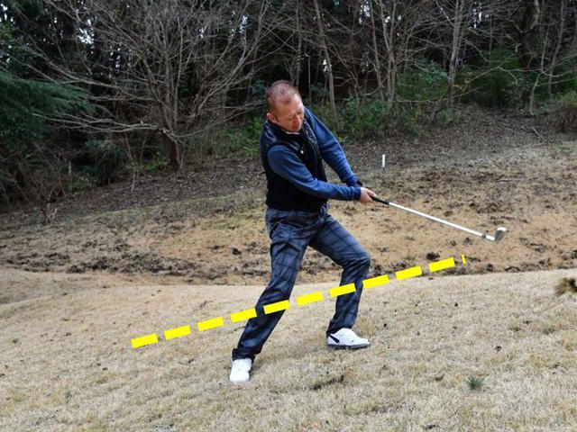 画像4: 【クラチャンと回ろう!】伊勢原カントリークラブ。急傾斜からナイスオン。フラットなゴルフ場では味わえない「快感」です!